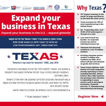 Invitation to a Round Table with Representatives of Texas Economic Development