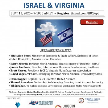 Global Virtual Exchange: US & Israel Economic Impact and Recovery: Defense and Homeland Security Sector